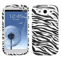 MYBAT Candy Skin Case compatible with Samsung Galaxy S III, Zebra Skin