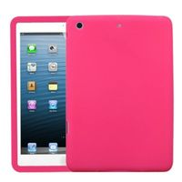 MYBAT Solid Skin Cover (Hot Pink) compatible with Apple iPad mini/mini 2