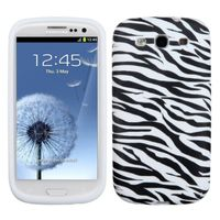 MYBAT Zebra Skin Skin Cover Compatible With Samsung Galaxy S III