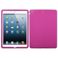 MYBAT Solid Skin Case (Hot Pink) compatible with Apple iPad air