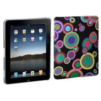 MYBAT Groove Bubble/Black Back Protectorr Cover compatible with Apple iPad