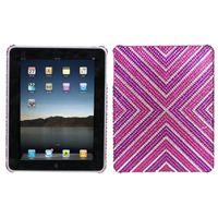 MYBAT Cautions Diamante Back Protector Cover compatible with Apple iPad