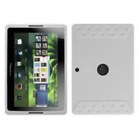 MYBAT Solid Skin Cover Compatible with RIM BLACKBERRY Playbook , Translucent White