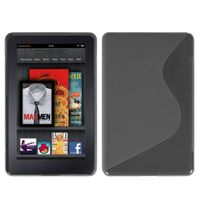 MYBAT Smoke(S Shape) Candy Skin Cover compatible with KINDLE fire