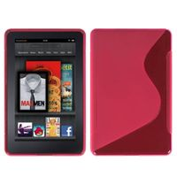 MYBAT Candy Skin Cover Compatible with KINDLE fire , Hot Pink /S Shape