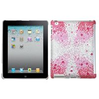 MYBAT Pink Starburst Gem Gradients Diamante SmartSlim Back Protector Covercompatible with Apple iPad 2/3/4