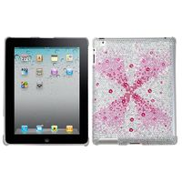 MYBAT Pink Singularity Gem Gradients Diamante SmartSlim Back Protector Covercompatible with Apple iPad 2/3/4