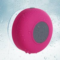 MYBAT Hot Pink Mobile Wireless Speakers (with Suction Cup)-64