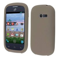 Discover Case Silicone Skin Cover Case compatible with Samsung Galaxy Centura S738C S730G S740C Discover, Smoke