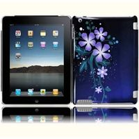 Design Cover Case compatible with Apple iPad 4 / iPad 3, Nightly Flower