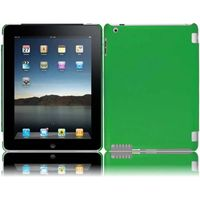 Rubberized Cover Case compatible with Apple iPad 4 / iPad 3, Dark Green