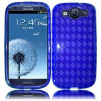 TPU Cover Case compatible with Samsung Galaxy S3 i9300, Blue