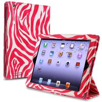 Foldable Flap and Stand Horizontal Pouch compatible with Apple iPad 2/3, White 288