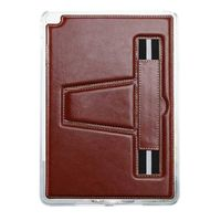 TPU Case with Hand Strap and Kickstand compatible with Apple iPad Mini 2, Brown HST