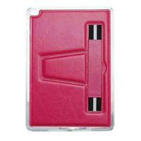TPU Case with Hand Strap and Kickstand compatible with Apple iPad Mini 2, Hot Pink HST