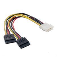 Connectland Molex to SATA Power Splitter Cable
