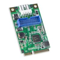 Syba Mini PCI Express 2.0 2-Port USB3.0 Card,  Renasas Chipset