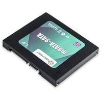 "IOCrest 1.8"" Mini SATA SSD to 2.5"" SATA Adapter via PCIe Slot"