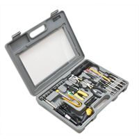 Syba 56 Pieces Computer Tool Kit, Heavey Duty Moulded Case with Clear Cover