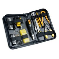 Syba 43 Pieces Computer Basic Maintenance Tool Kit Slim Zipped Case
