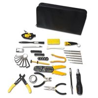 Syba 58 Pieces Computer Tool Kit, Slim Zipped Case