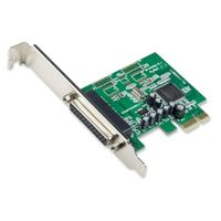 IOCrest PCI-E Printer/Parallel Card Moschip 9901 Chipset one Low Profile Bracket