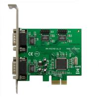 IOCreat PCIe 4x Port Serial DB9 Card Moschip 9901 Chipset