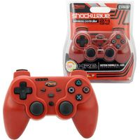 KMD 2.4Ghz Wireless Shock Wave controller Compatible With Sony PlayStation 3 Red