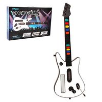 KMD Wireless Fret Guitar Controller Compatible With Nintendo Wii White