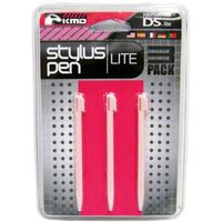 KMD 3 Piece Set Stylus Pen Compatible With Nintendo DS Lite Pink