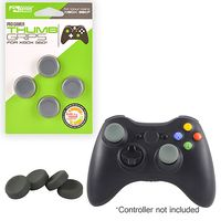 KMD Thumb Grips Compatible With Sony PlayStation 3/Microsoft Xbox 360 Black
