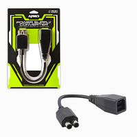 KMD 4 inch Microsoft Xbox 360 To Xbox 360 Slim Power Supply Converter Adapter Black