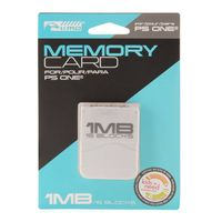 KMD 1MB 15 Blocks Memory Card Compatible With Sony PlayStation Game System