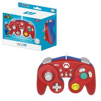 Hori Mario Classic Controller Wired Controller Compatible With Nintendo Wii/Wii U