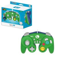 Hori Luigi Classic Controller Wired Controller Compatible With Nintendo Wii/Wii U