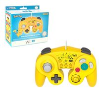 Hori Pikachu Classic Controller Wired Controller Compatible With Nintendo Wii/Wii U