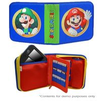 PDP DS Universal Super Mario Bros Folio Case Compatible With Nintendo 2DS/3DS/3DS XL/DS/DSi XL