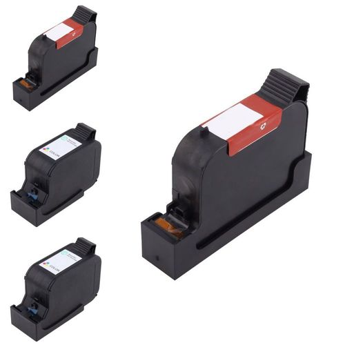 15 78 C6578DN C6615DN 4-Pack Set Remanufactured Ink Cartridge  compatible with HP OfficeJet V40Xi, Black/ Tri-Color