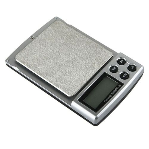 2lb Digital Pocket Scale, Black