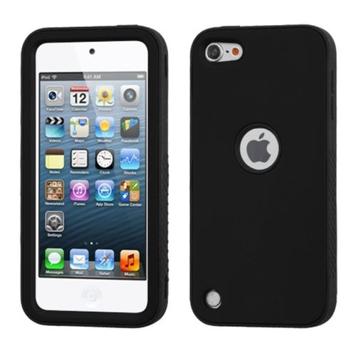 For-Apple-iPod-Touch-5th-Gen-6th-Gen-Black-Verge-Hard-Silicone-Hybrid-Case