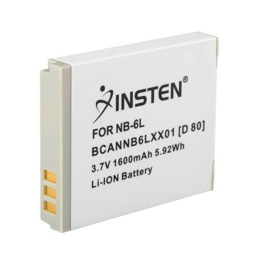 NB-6L Compatible Li-Ion Battery  compatible with Canon PowerShot SD-Series / Digital ELPH SD1200 IS, White
