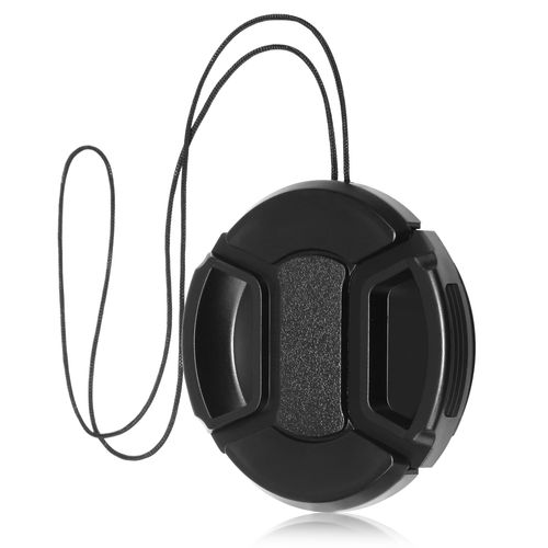Camera Lens Cap  compatible with Samsung© Digimax A55W, Black