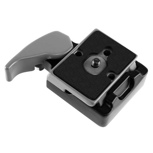 Camera Quick Release Plate Adapter Set  compatible with Panasonic LUMIX DMC-TZ50-K