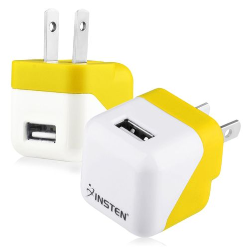USB Mini Travel Charger , Yellow
