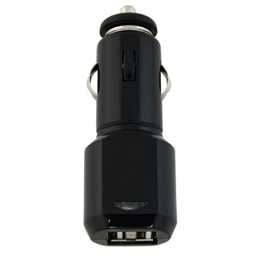 2-Port USB Car Charger w/ LED Light  compatible with Amazon Kindle 3 / Wi-Fi / 3G + Wi-Fi, Black