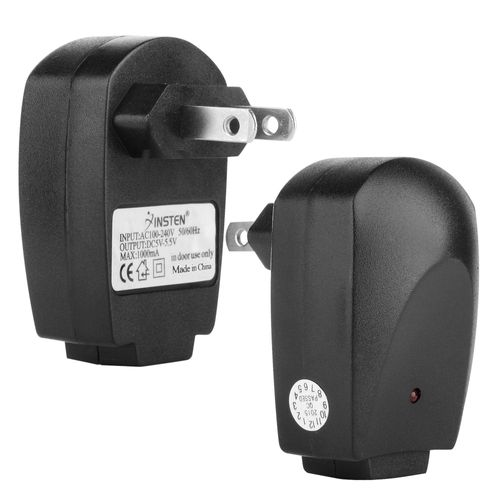 Universal USB Travel Charger Adapter  compatible with Samsung© Glyde SCH-U940, Black