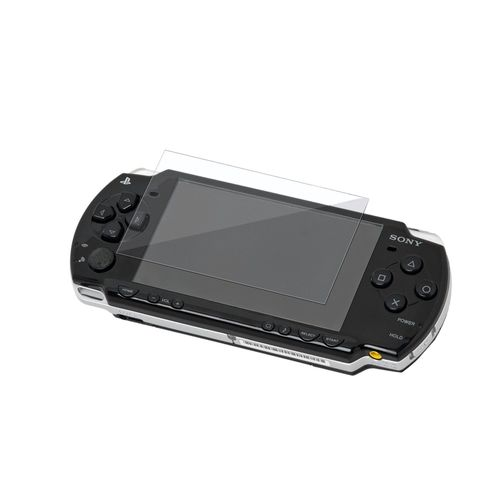 Reusable Screen Protector  compatible with Sony PSP slim 2000 series, Clear