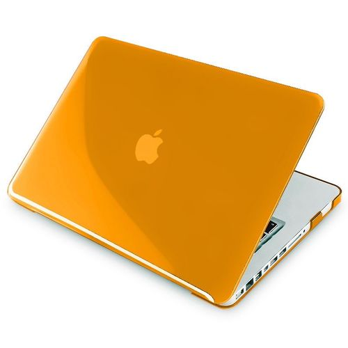 Snap-in Case compatible with Apple® MacBook® Pro, Clear Orange