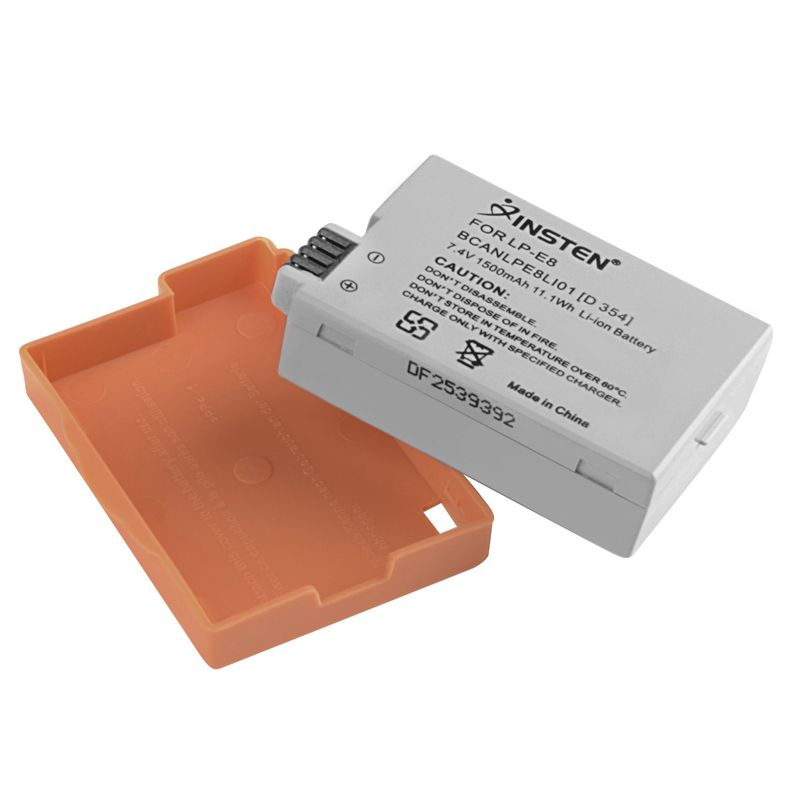 LP-E8 Li-on Battery For Canon Rebel T5i T4i T3i T2i EOS 550D 600D 650D Kiss X5