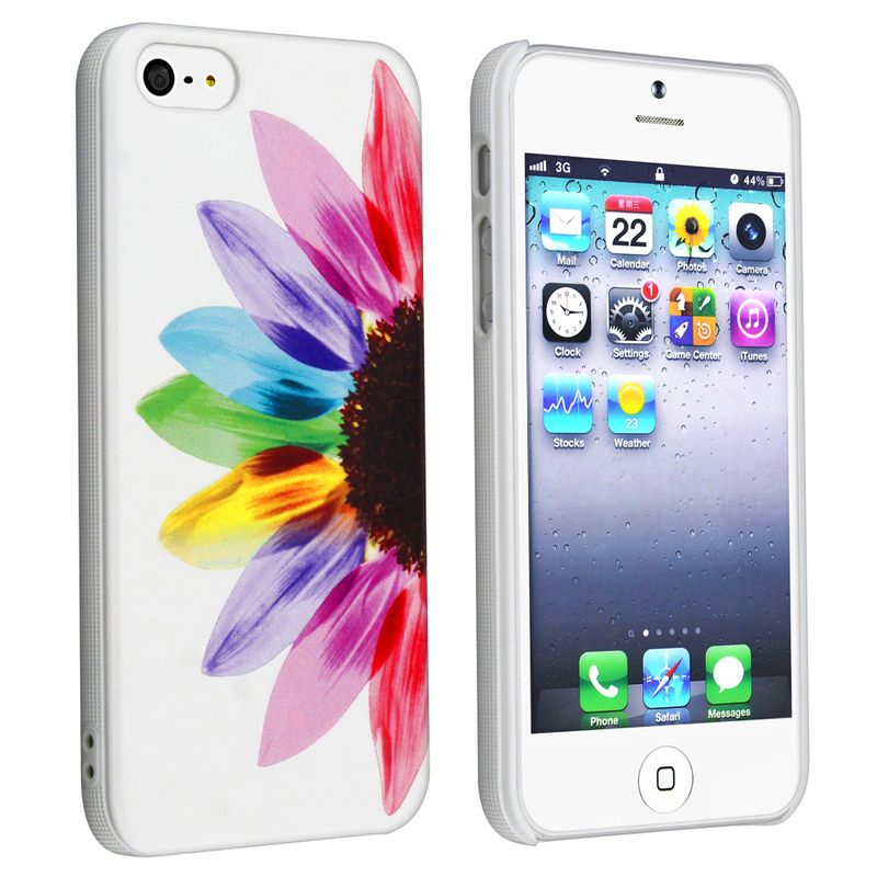 Colorful Fashion Cute Design Painted Pattern Skin Case Cover For iPhone 5 5S 5G